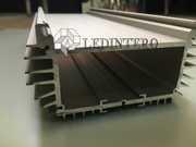 Алюминиевый профиль Лединтеро с консолью и заглушками Led-prof-4
