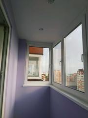Окна REHAU  Delight- остекление, утепление  лоджий.